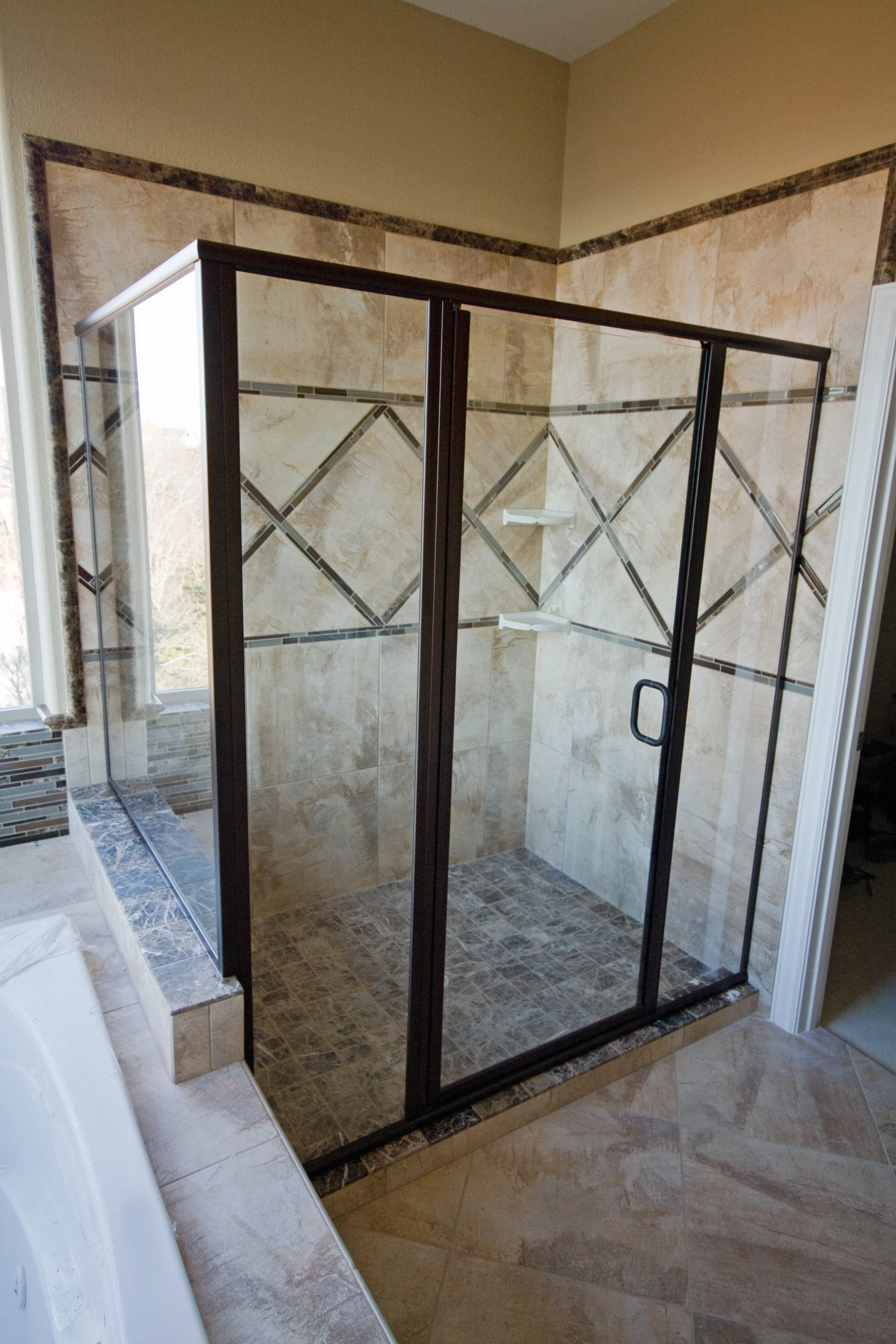 White River Bath Swing Door